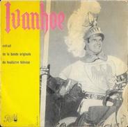 Disque 45 T Pathé: Ivanhoe (feuilleton Télévisé 1958) - Photo Roger Moore - Soundtracks, Film Music