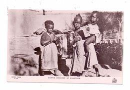 SUDAN - KHARTOUM, Native Children, Ethnic / Völkerkunde - Sudan