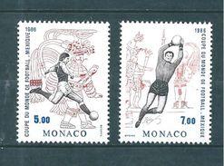 Monaco Timbres De 1986  Neufs**    N°1528/29 - Neufs