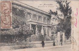 Egypte Alexandrie  Ou Alexandria Consulat De France - Alexandrie