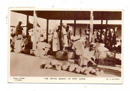 SUDAN - PORT SUDAN, Native Market - Sudan
