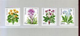 ISLANDE - YT N° 545/548. Fleurs Diverses 1983 - Neuf ** - Sonstige