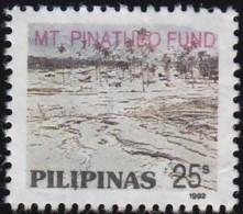 PHILIPPINES - Scott #RA1 Mt. Pinatubo Fund (*) / Used Stamp - Philippines