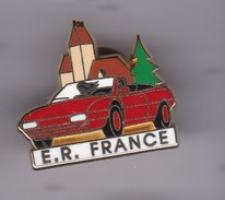 Pin's  FERRARI  E R FRANCE SIGNE ARTHUS BERTRAND N° 31 SUR 250 - Ferrari