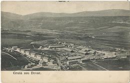 Gruss Aus Drvar Factory  Stamp Removed At The Back - Bosnie-Herzegovine