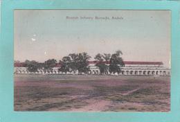 Old Postcard Of Bristish Infantry Barracks,Ambala, Haryana, India,R37. - Indien