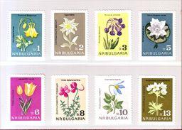 BULGARIE 1963 - YT N° 1208/1215 . Fleurs Diverses - Neuf ** - Sonstige