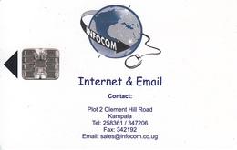 UGANDA-Internet - Uganda