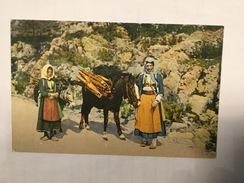 AK  BOSNIA   TREBINJE   FOLK  COSTUME - Bosnia And Herzegovina