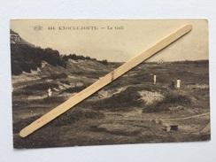 KNOCKE-ZOUTE «LE GOLF «Panorama, Animée ( 1929) Édit ,P.I.B.nº 444. - Knokke