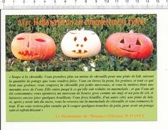 Humour - Avec Halloween On Est Complètement Vidées Recette De La Soupe à La Citrouille Légume CitrouillesPumpkin CP 11/1 - Farmers