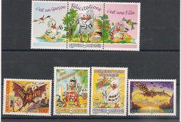 NOUVELLE CALEDONIE Timbre De Souhaits N° Y/T : 834/36**- 861/862** - Nouvelle-Calédonie