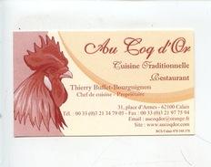 """Calais : Restaurant """"Au Coq D'Or"""" Place D'armes (géographique) - Calais"""
