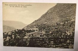 AK  PERU   VISTA PANORAMICA DEL CUZCO  PRIMITIVA    CUSCO - Perú