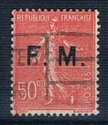 1929 50c Yv F 6 - Franquicia Militar (Sellos)