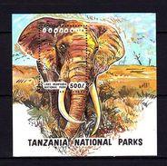 Tanzania 1993 Animals Elephants MNH -(V-33) - Timbres