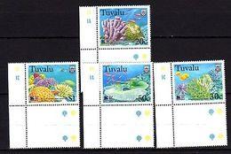 Tuvalu 1998 Coral Reef MNH - Meereswelt
