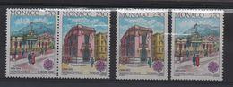 MONACO N° 1724/1725 + 1724a Et 1725 A Du BF ** -  EUROPA - Europa-CEPT