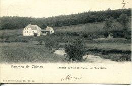 N°56762 -cpa Environs De Chimay -châlet Du Pont St Nicolas Sur L'eau Noir- - Belgique