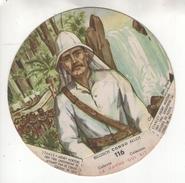 """Chromo N°116 """"La Vache Qui Rit"""". Série Congo Belge. Stanley (Henry Morton). Vertaling Zie Chromo - Autres"""