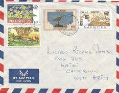 Mauritius 1999 Curipipe Wheel Sugarcane Flower Whimbrel (Numenius Phaeopus) Wader Bird Cover - Mauritius (1968-...)