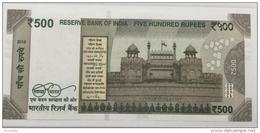 INDIA P. 114b  500 R 2016 UNC - India