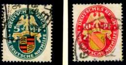 Deutsches Reich, 398 En 399 - Gebruikt