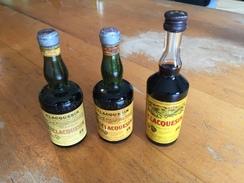 Lot De  3  Mignonettes De Claquesin - Miniatures