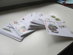 BRD 2008 - 2014 Euro Ganzsachen / Sonderumschläge. Verschiedene Sonderstempel! Briefmarken Messen Usw...USo. 105 Stück! - Briefmarken