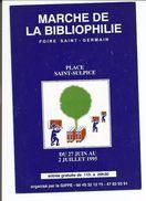 CPM. Th. Manif. Marché De La Bibliophile , Foire , Saint Germain , Ed. F. 1995 - Demonstrationen