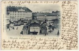 BUDAPEST - Deák Tér, Deák Ferenes Tèr  ,  Viaggiata 1901 - Ungarn