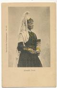 Islandsk Brud Femme Islandaise Edit Skandinaviske Nationaldragter No 165 Hand Colored - Islande