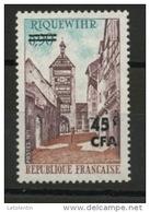 FRANCE SURCHARGÉ CFA - N° Yvert 397** - Réunion (1852-1975)