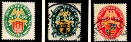 Deutsches Reich,  Deutsche Nothilfe 425-427 - Gebruikt