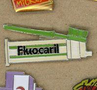 M# - PIN'S:  FLUOCARIL - Médical