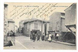AULNAT  (cpa 63)   Le Pont Et La Grand'Rue - Boulangerie -   - L 1 - France