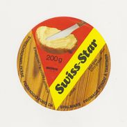 ETIQUETTE DE FROMAGE FONDU A TARTINER SUISSE - Cheese