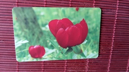 Nice Chip Phonecard Bulgaria Flowers Used - Bulgarie