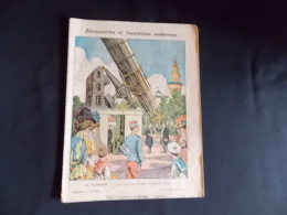 Protege Cahier Couvre Cahier Circa 1910 Ill. G Grelltet  Decouvertes Et Inventions Modernes  Lib. E Brosset Moulins - Blotters