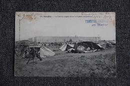 Campagne Du MAROC- Vers FEZ, La Colonne Campée Devant La Casbah D'EL KOUNITRA - Guerres - Autres