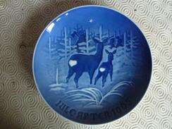 """Assiette De Collection Bing & Groendahl - Fêtes De Noël """"Jules Aften"""" 1965 - Bing & Groendahl (DNK)"""