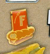 M# - PIN'S:  F (??) - Levensmiddelen