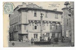 AMBERT  (cpa 63)  Place Des Minimes-   - L 1 - Ambert
