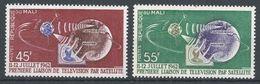 Mali 1962. Scott #40-1 (MNH) Telstar, Earth, Television, Terre, Satellite - Mali (1959-...)