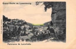CPA GRAND DUCHE DE LUXEMBOURG PANORAMA DE LAROCHETTE - Larochette
