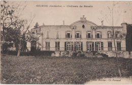 CPA 07 GILHOC Château De Bessin - Ohne Zuordnung