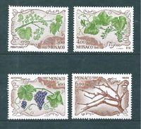 Monaco Timbres De 1987  Neufs** Parfait Série Complète  N°1581 A 1584 - Neufs