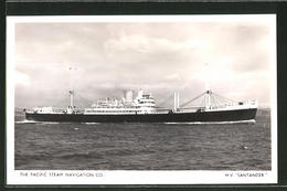 "CPA Handelsschiff ""Santander"", The Pacific Steam Navigation Co. - Cargos"