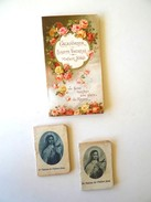3 PETITS CALENDRIERS DE SAINTE THERESE DE JESUS (Lisieux) 1926 -1927 - 1936 - Calendriers