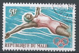 Mali 1965. Scott #81 (U) Swimming, Natation - Mali (1959-...)
